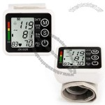 Digital Wrist Blood Pressure Monitor with Voice, LCD Screen