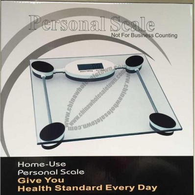 Digital bathroom scale
