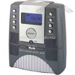 Digital coin bank with FM radio