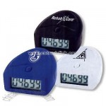 Digital pedometer with belt clip