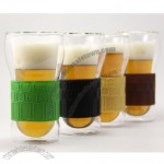 Dimple Double Wall Beer Glass