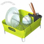 Dish Holder, Durable Plastic Construction