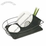 Dish Holder with PP Tray 508x370x110mm