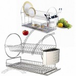 Dish Rack, Made Of Stainless Steel