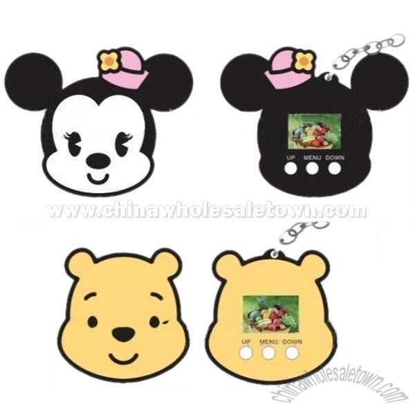 Disney 1.1 inch Digital Photo Frame with Keychain, 1.1 Inches ...