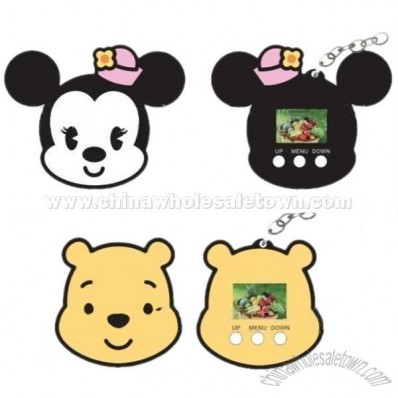 Disney 1.1 inch Digital Photo Frame with Keychain