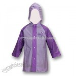Disney Fairies Tinkerbell Purple Girls Rain Slicker