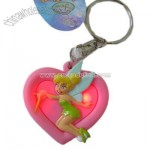 Disney Flashing Keychain - Princess Fairy Tinker Bell Keyring