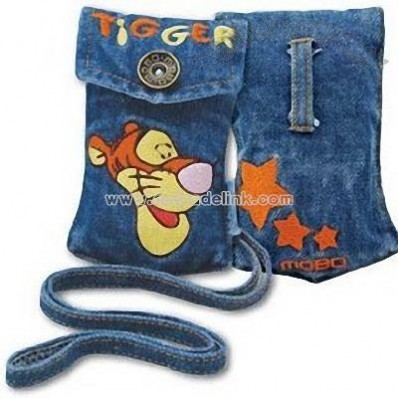 Disney Jeans Carrying Pouch for Cell Phone