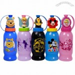 Disney ZAK Cartoon Sports Bottle with Straw