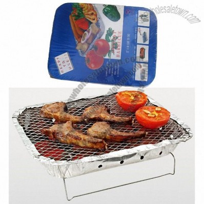 Disposable BBQ Grill, Instant Barbecue Grill