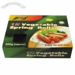Disposable Food Packaging Box, Corruaged, with Small Film Window