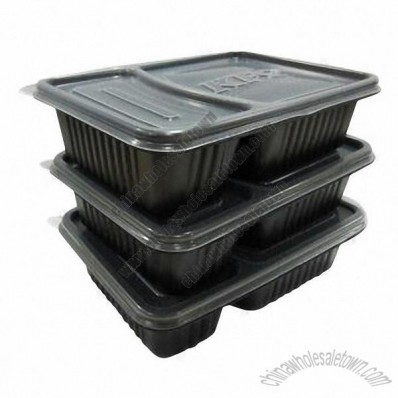 Disposable Plastic Container for Food