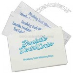Dissolving tooth whitening strips