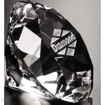 Distinctive Gift Gallery Crystal Diamond Paperweight (3 1/4