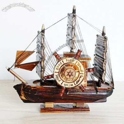 Distressed Fishing Boat Model