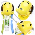 Dog Automatic Toothpaste Dispenser Squeezer Toothbrush Holder