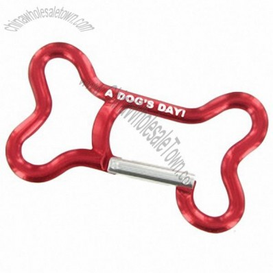 Dog Bone Carabiner Bottle Opener