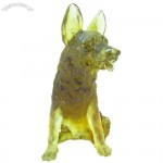 Dog Glass Decorate Craft