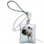 Dog Printed Mobile Cleaner, Soft PVC Pendant