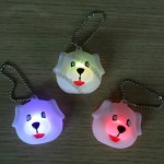 Dog Shape PVC LED Light Toy, Flashing Night Light