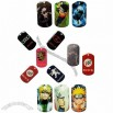 Dog Tag witn Color Printing Car Logo and Cartoon Pattern