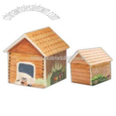 Dog house shape keeper