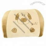Doggie Style Car Lumbar Cushion Waist Cushion Travel Pillow Khaki