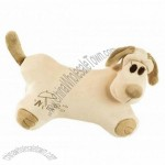 Doggie Style Car Neck Pillow Soft Pillow Travel Pillow Khaki