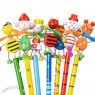 Doll spring cartoon Pencil