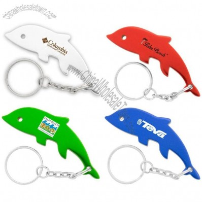 Dolphin Key Chain Bottle Opener