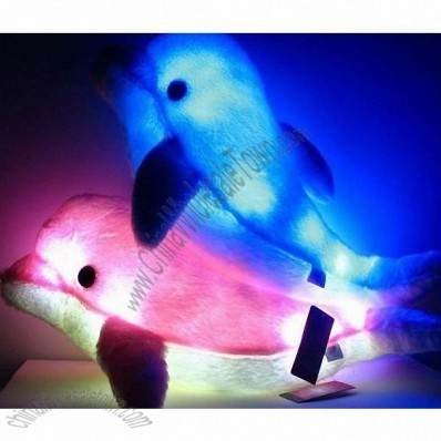 Dolphin induction switch LED light-emitting Pillow