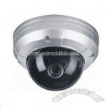 Dome Camera with 1/3-inch Sony Super HAD CCD and 0.45 Gamma Correction