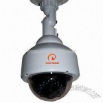 Dome Camera with 420TVL Horizontal Resolution and 25 to 30m Working Distance