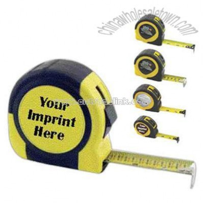 Dome Label - Power tape measure with English markings