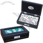 Domino Gift Pack Features Hinged Box With Inner Felt Lining