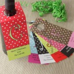 Dot To Dot Personalized Wine Bottle Tags