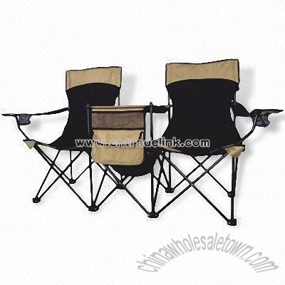 Double Camping Chairs Dual Camping Beach Chairs Camping