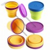Double Color Collapsible Silicone Cup