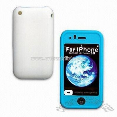 Double Color Silicone Case for iPhone 3G