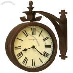 Double Dial Wall Clock