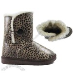 Double Face Australian Sheepskin Women's UGG Snow Boots