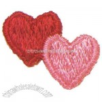Double Hearts Alternating -Valentine theme washable