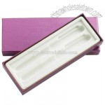 Double Pen Cardboard Box with Clear Interior Cover