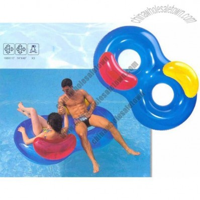 Double Ring Inflatable Swimming Ring