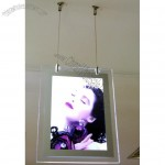 Double Side Crystal Light Box Single Frame