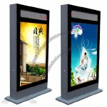 Double Sides Scrolling Light Box Designed with LED Message Display 49.2
