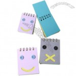 Double Spiral Pocket Notebook with Lovely Die Cutting and Smile Cover