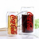 Double Wall Coca cola Heat-Resistant Glass