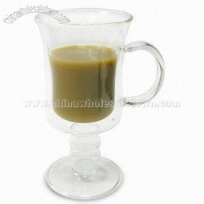 Double Wall Coffee Glass